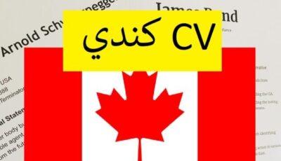 نموذج السيرة الذاتية الكندية تحميل و تعديل + كيف  أكتب CV كندي بشكل صحيح